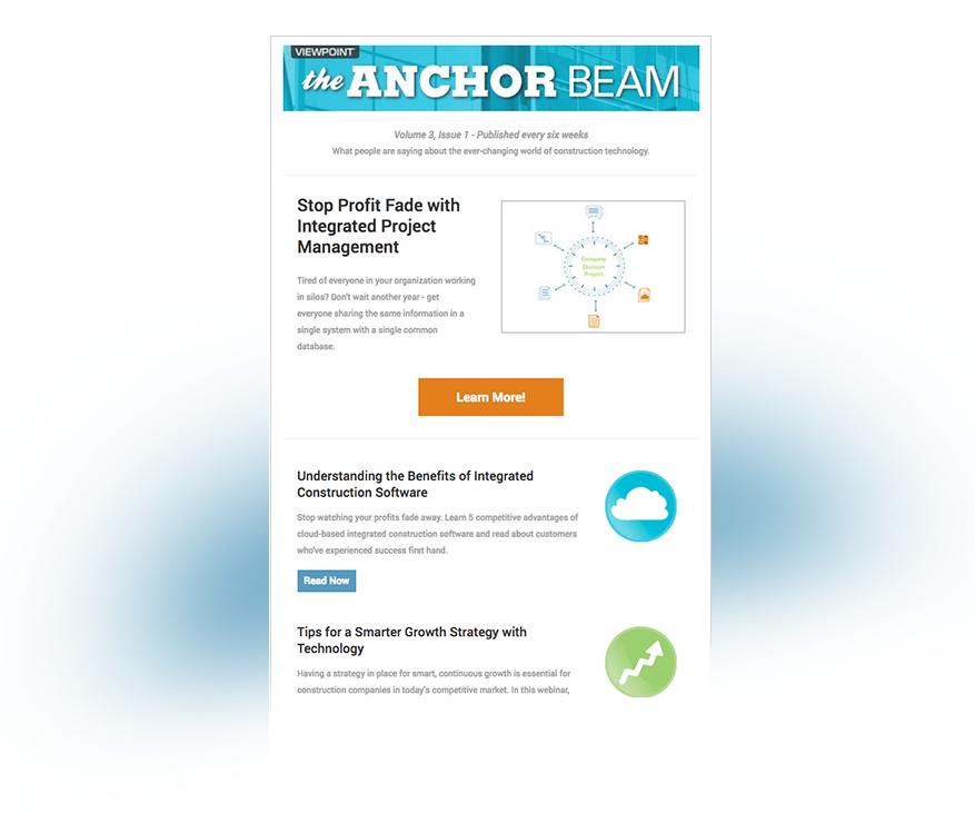 The Anchor Beam newsletter